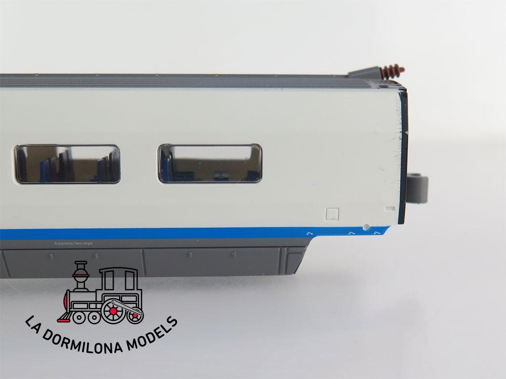 DM86 H0 =DC MEHANO - COCHE ADICIONAL TURISTA 7-100-008-2 AVE RENFE - S/C